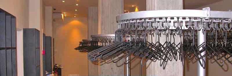 Nastri trasportatori per lavanderie