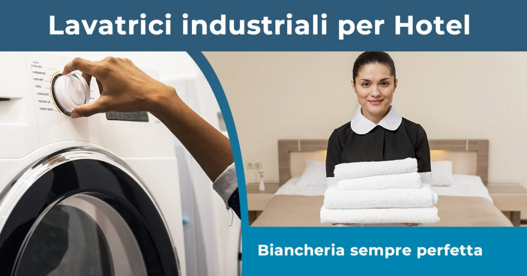 lavatrici industriali per Hotel