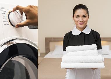 Lavatrici e asciugatrici per Hotel e Residence